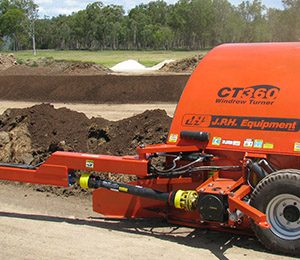 JPH CT360 Windrow Compost Turners