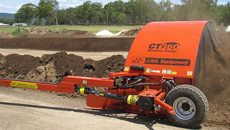 JPH CT360 Windrow Compost Turners