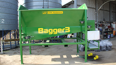 Bagger 3, Semi-auto, bagging machine, JPH Equipment