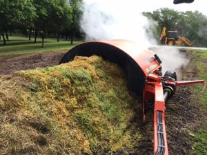 JPH's CT Series Compost Turner Fully galvanised tunnel