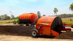 CT270 compost turners windrow turners