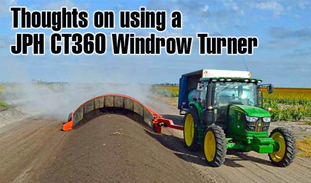 Chris Cameron from Platinum Compost talks about the advanytages of a JPH CT360 Compost Turner