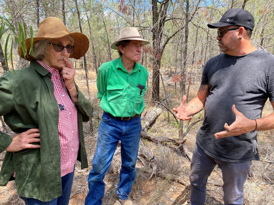 Landholders Kim and Judy have worked for more than half a century on improving the condition and productive capacity of their property near Goondiwindi, QLD.